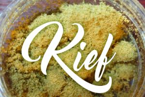 Making Hash From Kief