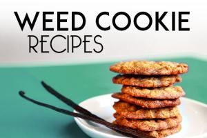 Weed Cookie Recipes