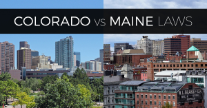 colorado marijuana laws compared to new maine laws logo
