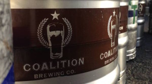 coalition CBD beer keg