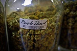California dispensaries purple diesel