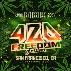 first 420 hempcon 420 freedom fest logo