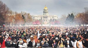 420 in Denver Civic Center Park