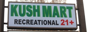 kushmart 420 sign