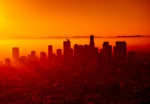 LA haze, california for 420, hazy