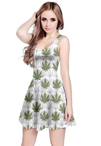 weed-themed summer sundresses