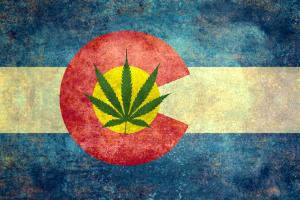 Colorado Pot Flag