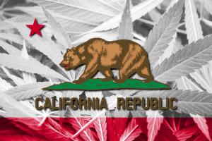 California Weed Flag