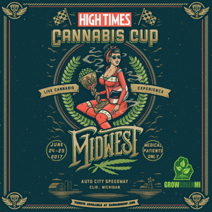 Michigan Cannabis Cup Poster