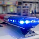 Cop Car Light Bar Police Enforcement Marijuana
