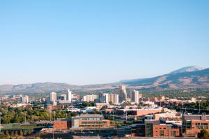 Reno Nevada Skyline Weed Shortage