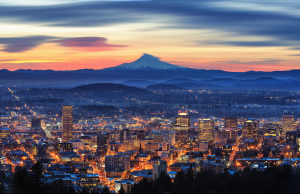 Sunrise over Oregon Cannabis-Friendly Communities
