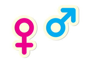 Male and Female Symbols Cannabis