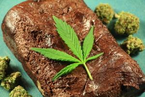 Vegan Marijuana Brownie Edible