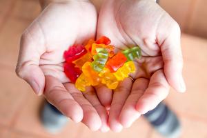 Handful of Gummy Bears