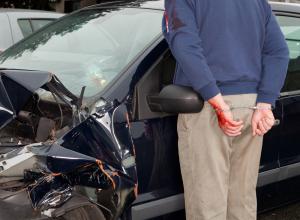Man Arrested After Car Accident